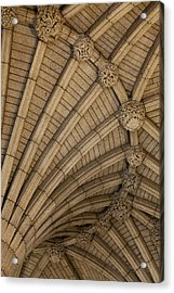 Vaulted Ceiling In The Centre Block In Acrylic Print