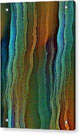 Vents Under The Sea Acrylic Print
