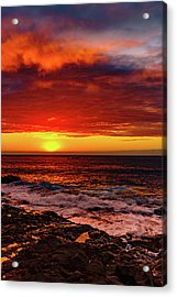 Vertical Warmth Acrylic Print