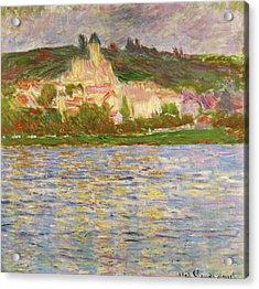 Vetheuil, 1902 - Digital Remastered Edition Acrylic Print
