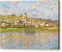 Vetheuil - Digital Remastered Edition Acrylic Print