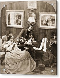 Victorian Life Acrylic Print by Otto Herschan Collection