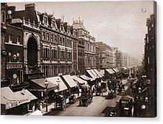 Victorian London Acrylic Print by London Stereoscopic Company