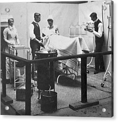 Victorian Surgery Acrylic Print by Hulton Archive