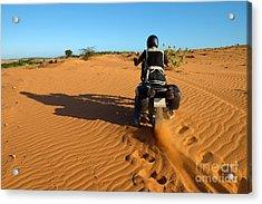 Vietnamese Man Travel To Adventure Acrylic Print