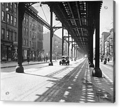View From 38th St. And Second Ave Acrylic Print