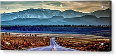 View From A Windy Road Acrylic Print