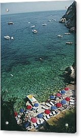 View From Il Pellicano Acrylic Print