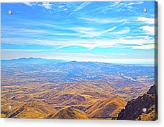 Acrylic Print featuring the photograph View From Squaw Butte, Id by Dart and Suze Humeston