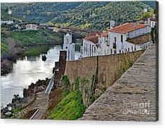 View From The Medieval Castle Acrylic Print