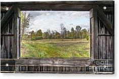 View Into Ohio's Nature Acrylic Print