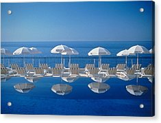 View Of Blue Acrylic Print