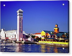 View Of New Providence Harbor And St Acrylic Print