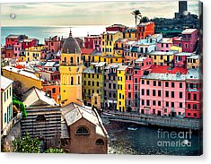 View Of Vernazza. Vernazza Is A Town Acrylic Print