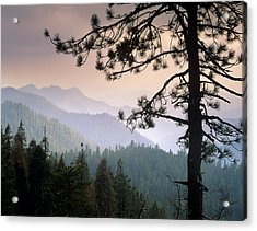 View Over Foothills To The West From Acrylic Print by Tim Fitzharris/ Minden Pictures