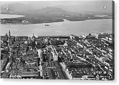 View Over Santos Acrylic Print by Hulton Archive