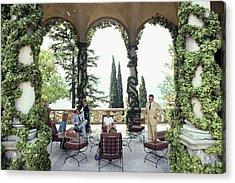 Villa Del Balbianello Acrylic Print by Slim Aarons