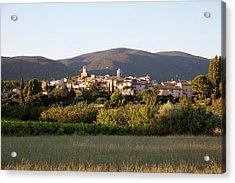 Village Of Lourmarin Acrylic Print by Photo And Co
