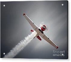Vintage Airplane At High Speed Acrylic Print