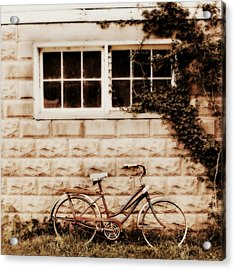 Vintage Bicycle Acrylic Print