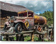 Vintage Ford Tanker Acrylic Print