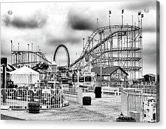 Vintage Funtown Pier Seaside Heights Acrylic Print
