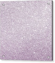 Acrylic Print featuring the photograph Violet Glitter by Top Wallpapers