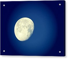 Acrylic Print featuring the photograph Virgo Moon Three Quarters by Judy Kennedy