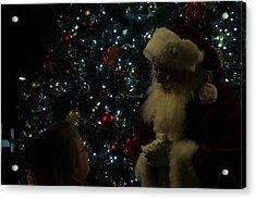 Visit With Santa Acrylic Print