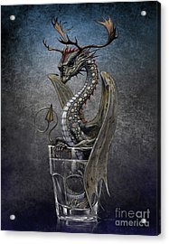 Vodka Dragon Acrylic Print