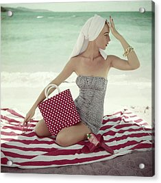 Vogue 1954 Acrylic Print