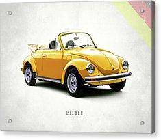 Vw Beetle 1972 Acrylic Print