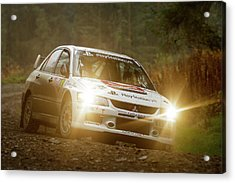 Wales Rally Gb 2016 - 92 Tony Jardine, Gbr Acrylic Print
