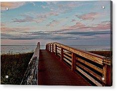 Walk Into The Ocean Acrylic Print