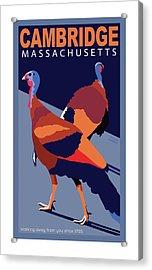 Walking Away From You-cambridge Acrylic Print