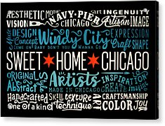 Wall Art Chicago Acrylic Print