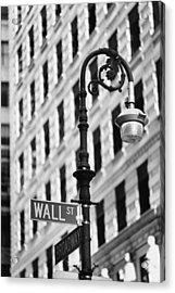 Wall Street Acrylic Print by Keystone