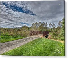 Walnut Woods Bridge - 1 Acrylic Print