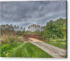 Walnut Woods Bridge - 2 Acrylic Print
