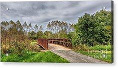 Walnut Woods Bridge - 3 Acrylic Print