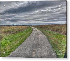Walnut Woods Pathway - 1 Acrylic Print