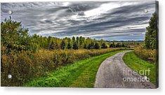 Walnut Woods Pathway - 2 Acrylic Print