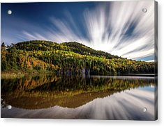 Acrylic Print featuring the photograph Wapizagonke Lake Reflection by Pierre Leclerc Photography