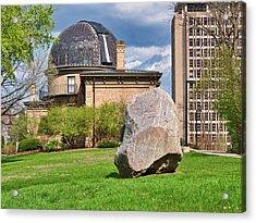 Washburn Observatory - Uw Madison - Wisconsin Acrylic Print