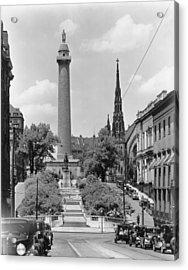 Washington Monument Acrylic Print by Keystone