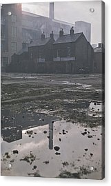 Waste Ground In Belfast Acrylic Print by Bert Hardy