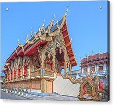 Acrylic Print featuring the photograph Wat Chai Mongkon Phra Ubosot Dthlu0391 by Gerry Gantt