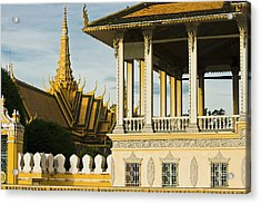 Wat Ounalom The Most Important Wat Of Acrylic Print
