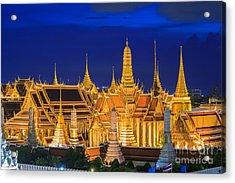 Wat Phra Kaew, Temple Of The Emerald Acrylic Print