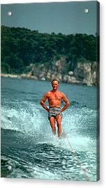Water-skiing Star Acrylic Print